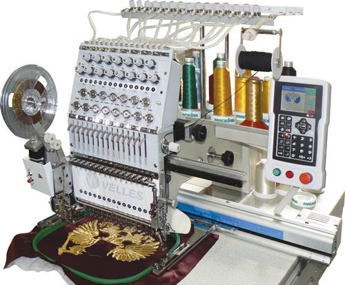 Машине для вышивки шевронов